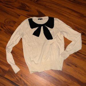 J Crew Bow Sweater
